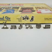 NHL Monopoly Hockey Collector's Edition Replacement Collectible Pewter Tokens