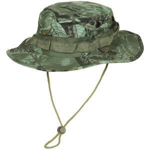Army Gi Ripstop Hunter Boonie Bush Jungle Hat Fishing Real Tree Green Camo S-XL