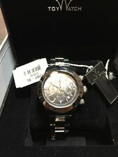 Toy Watch Heavy Metal Plasteramic Silver Black Chronograph Unisex watch 11207-SL