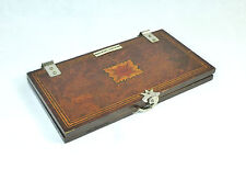 Unusual Art Deco Krawattenpresse England Meakers London Um 1920 Inlaid