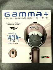 Gamma+ Aria Dual Ionic Hair Dryer- Rose Gold