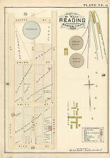 1884, Berks County, Pa, Reading Land & Improvement Company, Copy Plat Atlas Map