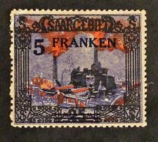 Sello SARRE ALEMANIA / SARRE GERMANY Stamp - Yvert y Tellier nº82 N (Col7)