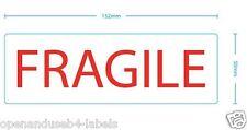 Etichette Fragile - 250 Autoadesivo 152 x 50mm etichette per rotolo