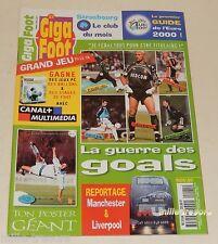 GIGA FOOT Numéro 21 de 99 : EURO 2000 + Fabien BARTHEZ +Manchester + Poster OM