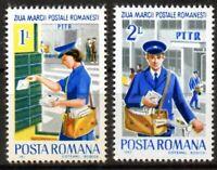 RUMANIA / ROMANIA año 1982 yvert nr. 3412/13 nueva dia del sello PTTR