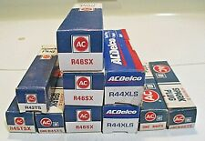ACDelco mixed lot of 10 Spark Plugs