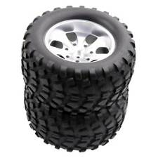 RC 108839 Alum Wheel & 08043 Tires 4pcs For RedCat 1/10 Nitro Volcano S30 Truck