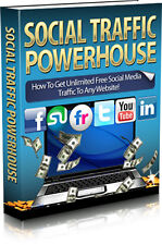 How To Get Unlimited Free Social Media Top Sites Traffic To Any Website (CD-ROM)