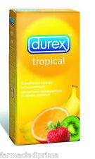 DUREX TROPICAL Colorati e Aromatizzati 18 profilattici CONDOM