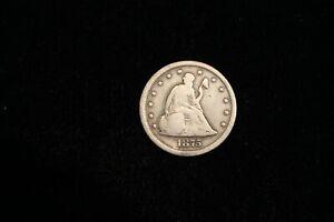 1875 S 20 Cent Piece Twenty