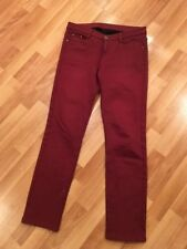 Unbranded Size 31 Dark Red Pants W/ Soft&Warm Lining