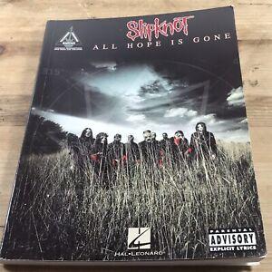 Slipknot - All Hope is Gone Guitar Recorded Versions Sheet Music Hal Leonard