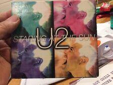 U2 Staring At The Sun Rare Australian Digipak CD Single