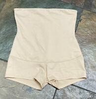 0421 Flexees Large Nude High Waist Shaping Boyshort Brief #2107 Vintage B