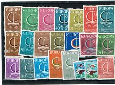 Europa 1966 kleine Sammlung MNH / Postfrisch **