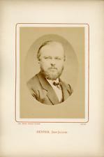 Ant. Meyer, Photog. Colmar, Jean-Jacques Henner (1829-1905), peintre français Vi
