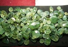 8000-Cts.Natural Green Prehnite cabochon loose gemstone Lot Size-57x20x5-Sk2359
