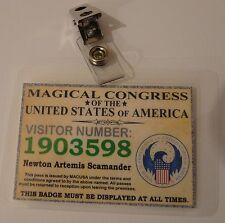 Fantastic Beasts - Personalised 'Magical Congress' (MACUSA) Visitor's Pass