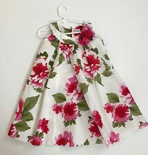 Amaya girls kids dress floral size 6