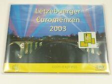 *** EURO KMS LUXEMBURG 2003 BU Post Postsatz Kursmünzensatz Luxembourg Coin Set