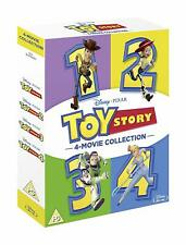 Toy Story 1 2 3 4 Movie Complete Collection [Blu-ray Box Set Region Free Disney]
