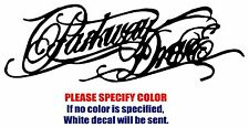 """Parkway Drive Band rock Graphic Die Cut decal sticker Car Truck Boat Window 12"""""""