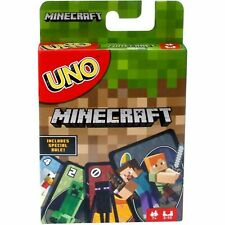 UNO Minecraft Card Game, Toys & Hobbies, Card Games & Poker NEW