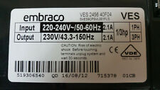 NEW Refrigerator Inverter embraco VES 2456 for Fridge 230V 43.3-150HZ 2.1A