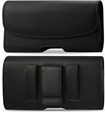 FOR BlackBerry Classic LEATHER POUCH BELT LOOP CLIP HOLSTER CASE COVER