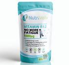 Vitamin B12 1000µg 120 Tablets Reduce Tiredness & Fatigue Immune System 1000mcg