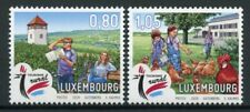 Luxembourg Landscapes Stamps 2020 MNH Rural Tourism Architecture Chickens 2v Set
