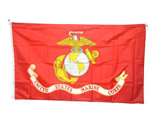 3x5 FT United States Marine Corps Flag Polyester USMC American Army Decor Banner