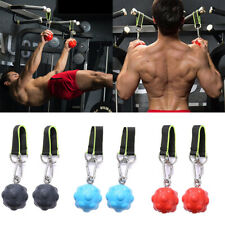 2x Durable Pull Up Grips for Forearm Back Muscles Kettlebells Workout
