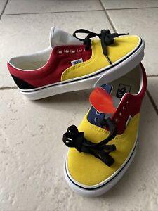 Vans Suede OTW Rally Navy/Yellow/Red/Black Shoes Men's Size 7 Women's Size 8.5