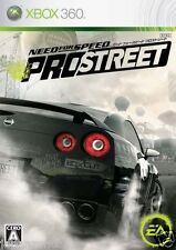 Used Xbox 360 Need for Speed Pro str MICROSOFT JAPAN JP JAPANESE JAPONAIS IMPORT