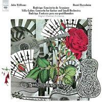 JOHN WILLIAMS - RODRIGO-CONCIERTO DE ARANJUEZ/GUITAR CONCERTO  CD 10 TRACKS NEU