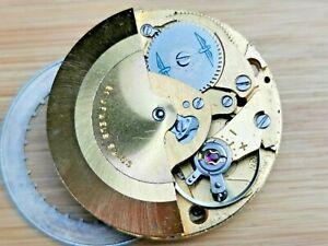 Vintage AS Cal 2066 Men's Automatic Date Watch, Working, Needs Repair