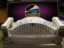 MTH Tinplate White/Red Hellgate Bridge 10-1016 New In Box