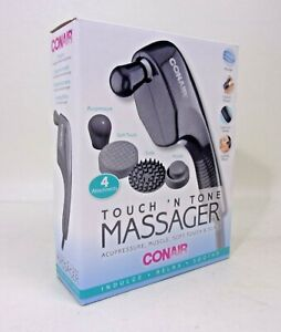 Conair Touch 'N Tone Massager, 4 Attachments