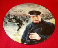 WE SHALL FIGHT ON THE BEACHES PLATE ROYAL DOULTON THE D-DAY LANDINGS