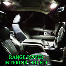 RANGE ROVER VOGUE L322 XENON WHITE FULL 18 PCS LED INTERIOR LIGHT KIT SET
