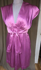 See by Chloe lavender silk charmeuse greek Goddess dress SPECTACULAR 8