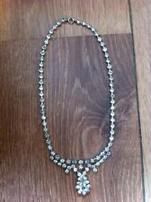 glamorous, pretty Pretty Diamante Necklace,
