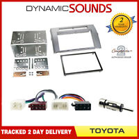 Radio Cage KIT Fascia Panel Adapter Double Din for Toyota Corolla Verso 04-09