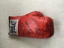 Multi Signed(9) JSA Everlast Boxing Glove -Griffifth, Mercante,Tonawanda,Micelli