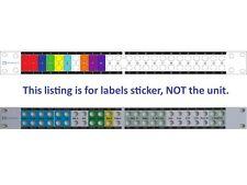 Custom Front Panel Etiketten Aufkleber für Patchfeld Behringer Ultrapatch Pro PX3000