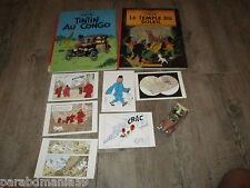 Lot Tintin - BD - Cartes postales - Voiture