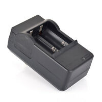 UK_ NE_ LC_ US Plug Dual Battery Charger for CR123A 16340 Li-ion Rechargeable Ba