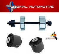 fits FORD FIESTA MK7 2008> REAR AXLE TRAILING ARM BUSHES & INSERTION TOOL